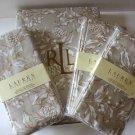 Ralph Lauren Tablecloth Napkin Set Bowen Natural Pinecone Holly 13pc 60x120 New