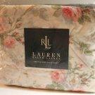Ralph Lauren Sheet Faye Floral Rose Full Deep Fitted 100% Cotton New