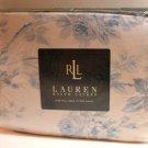 Ralph Lauren Sheet Faye Floral Blue Full Deep Fitted 100% Cotton New