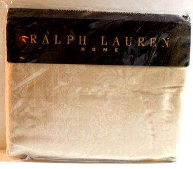 Ralph Lauren Sheet Fairchild Floral Sun Bonnet Full Flat 100% Cotton Sateen New