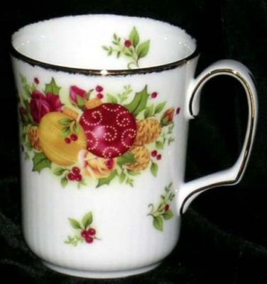 Royal Albert Doulton Mug Old Country Roses Holiday Coffee Tea Bone China New