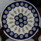 Boleslawiec Polish Pottery Peacock Trivet Suchi Serving Tray Stoneware Poland
