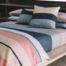 Calvin Klein Pillow Sham Veracruz Stripe King First Quality Luxury New