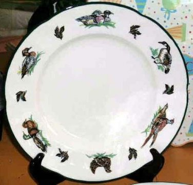 Johnson Bros Plates Dinner Brookshire Wild Birds Ducks Goose Earthenware 2 New
