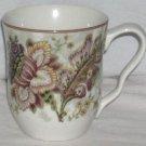 222 Fifth Mug Gabrielle Floral Jacobean Paisley Coffee Tea Porcelain New