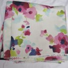 Vilber Screen Print-Pink Floral on Ecru/Cream-BTY-Drapery/Home Decor (#39)