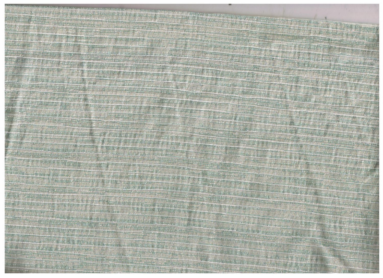 NEW-Home Decor Fabric Remnant-Sparkly Striped Blues-3yds x 47in-Crafting (#26)