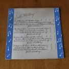 "Antique Print to Frame-Poem ""Jack's Whistling"" Over 80 Yrs. Old-Size 10"" x 10"""