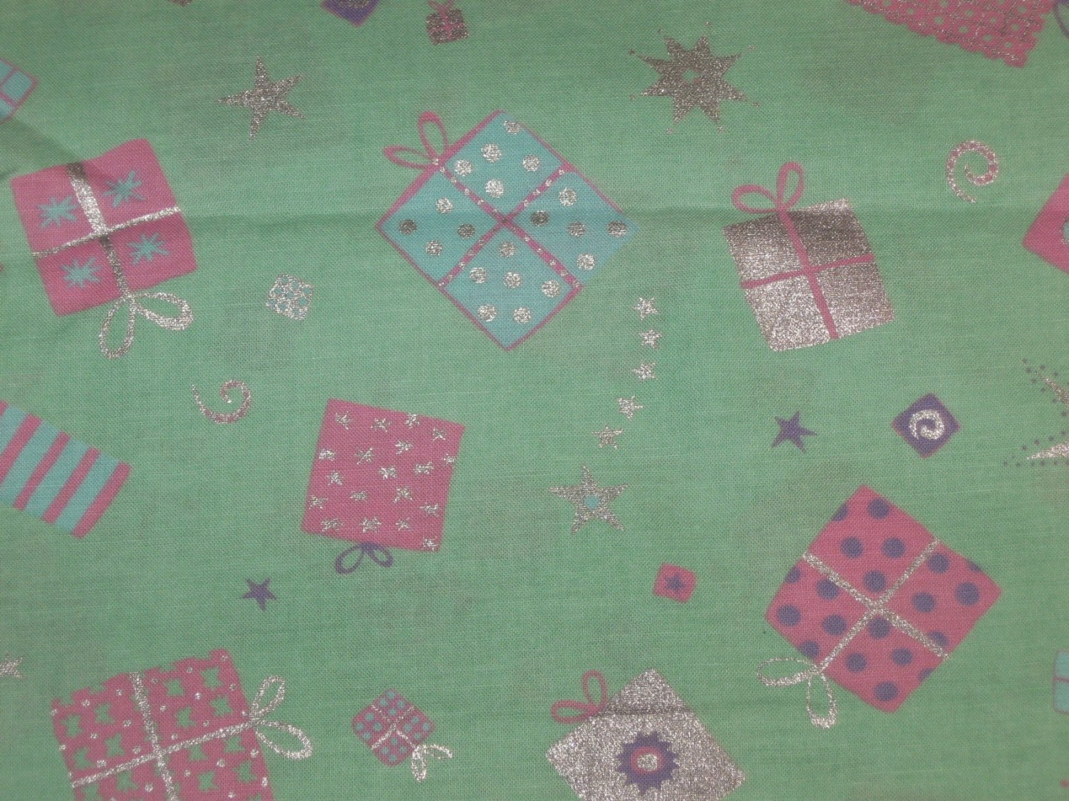 Artistic Expressions Birthday Sparkle Fabric-2yds x 44in-Crafting/Sewing