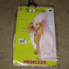 NIP-Princess In Pink Dog Halloween Costume-Size Small