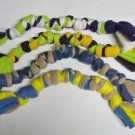 NEW-Knotted Fleece Rope Toy-Tug/Fetch-Assorted Colors-Dog Toys