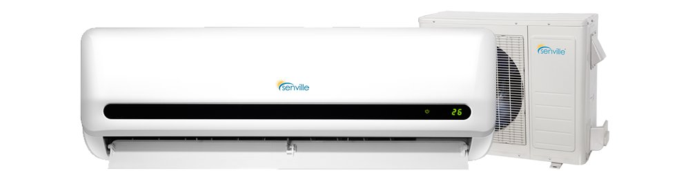 12,000 BTU LETO Series Efficient Cooling & Heating Mini Split Ductless Air Conditioner w/Remote