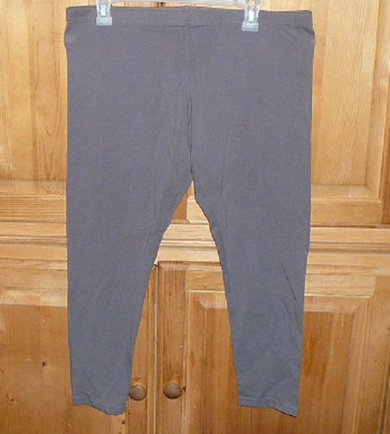 NY & CO WOMEN'S LEGGINGS SIZE XL STRETCH SAND COLOR