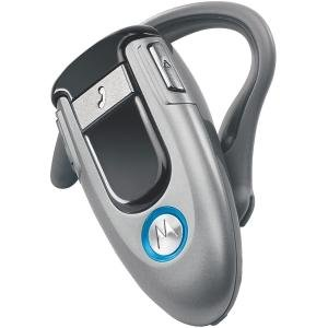 Motorola H500 Wireless Handsfree Bluetooth Headset (Silver)