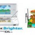 "New Ultra Slim Nintendo DS Lite ""Crystal White"" Console Bundle"