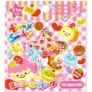 Crux Scented 71-Piece Sticker Sack: Friends Smile Sweets
