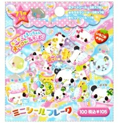 Crux 71-Piece Scented Sticker Sack: Bubble Animals
