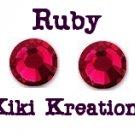7ss RUBY swarovski flatback rhinestones- 144 pcs