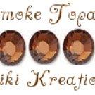 7ss SMOKE TOPAZ swarovski flatback rhinestones- 144 pcs