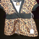 AMERICAN GIRL doll clothes- leopard swing top- NEW!