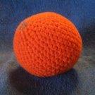 Play Food Hand Crocheted Orange