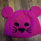 Child Size Mouse Hat, Hand Knit - Free USA Shipping!