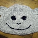 Child Size Monkey Hat, Hand Knit - Free USA Shipping!
