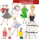 Simplicity  5785 1960's Fashion Doll Clothes for 11 1/2 nch dolls