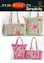 Simplicity 2399 Quilted Bags