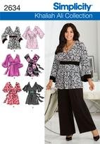 Simplciity 2634 Plus Size Tops