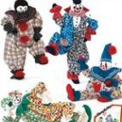 Simplicity 2954 20 inch Decorative Clowns