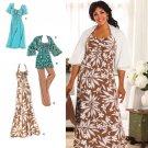 Simplciity 2947 Khaliah Plus Size Dresses 26W-32W