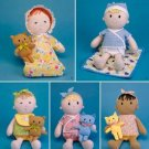 Simplicity 2809 15 inch Doll Clothes and 6 1/2 inch Cat or Bear