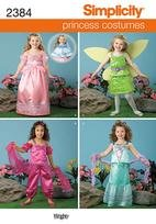Simplicity 2384 princess costumes 3-8