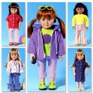 "Butterick 4089 American Girl 18"" doll clothes"