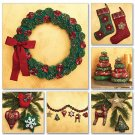 McCalls 6002 Stockings, Wreath, Tree in 2 Sizes, Ornaments and Garland