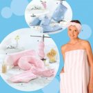 Simplicity 4747 Misses' Bath Wrap and Spa Accessories