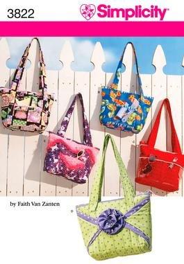 Simplicity 3822 Crafty Bags