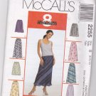 McCalls 2255 8 great looks, 1 easy pattern 8-12