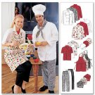 MCCALLS 2233  Misses & Men Uniform Chef Jacket & Pants 34-36