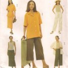 Butterick 3401 Misses Shirt top skirt and pants 18-22