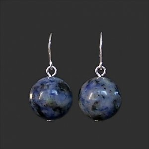 Plain and Simple Sodalite Earrings