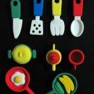 kawaii eraser pencil rubber kitchen tool set 9pcs