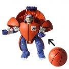 Basketball tranform to ROBSTER boy toy transformor