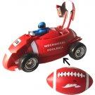 Rugby tranform to RACING CAR boy toy transformor