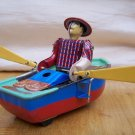 teenager collectible TIN WIN UP toy Boating
