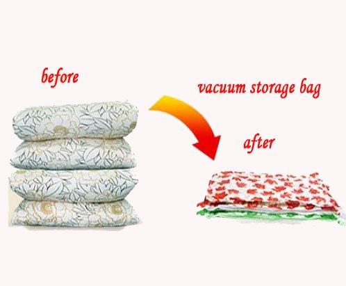 small stardard size 2 pcs vacuum storage bag