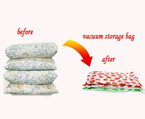 New 2 Large size Space Bags Vacuum Seal Storage Compressed