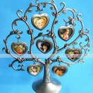 Silver Plated Family Tree picture display photo frame/home decoy