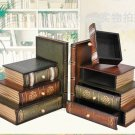 Wooden Stack Book Ends Gift/Decor Storage box/jewelry box